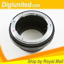 Nikon F mount G DX AF-S lens to Olympus Panasonic Micro 4/3 M43 adapter OM-D GH4