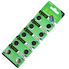 50 PCS  LR1130 AG10 389 Alkaline Battery 1.5V Button Cell for Watch Calculator
