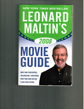 Leonard Maltin's`08 Movie Guide softbound TPB book (THE LARGER FORMAT: essential