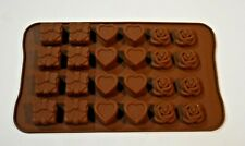 Chocolate Silicone Mold Presents, Hearts, and Roses New