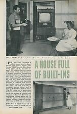 1958 Built-ins in Every Room Glen Cove Long Island NY Home Mid Century Modern