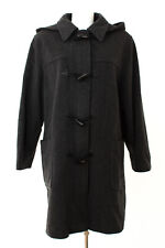 ERICH FEND Mantel Gr. 40 Wolle-Kaschmir Dufflecoat Coat