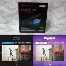 BDR-XD07J-UHD - Pioneer Ultra HD 4K Blu-ray Portable Blu-ray Bluray Drive
