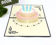 3D Pop Up Birthday Cards Happy Birthday Cake AU SHOP