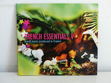 CD ALBUM Sampler French essentials V World music IDIR TOUMAST .. BUREXWORLD07