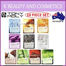 [TonyMoly] 10 Pieces x Tony Moly Pureness 100 Sheet Mask 21ml