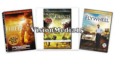 SEALED 3 Pack - Fireproof - Facing The Giants - Flywheel DVD NEW SHIPS NOW !