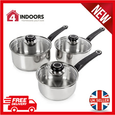 Cooking Pan Sets With Saucepan For Sale Ebay