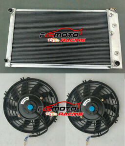 For 1968-73 Chevy Chevelle,Chevy El Camino GMC 1968-1977 Aluminum Radiator+Fans
