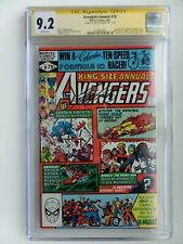 Avengers Annual #10 ('81) CGC 9.2 WP SS Chris Claremont 1st Rogue X-MEN MCU