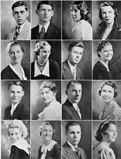 1933 Beverly Hills High School Yearbook~Photos~HIstory~Football~Baseball~Theater