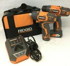 RIDGID 12-Volt Cordless Drill Driver and Impact Driver Combo Kit R9000K, FM135