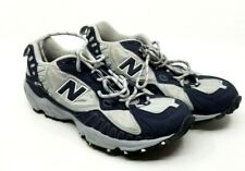 New Balance Mens 470 Running Shoe size 11 White with silver and blue