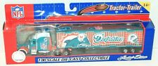 MIAMI DOLPHINS NFL FOOTBALL 1:80 DIECAST TRUCK TRACTOR TRAILER TOY VEHICLE 2005