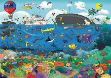 GOLIATH JIGSAW PUZZLE THAT'S LIFE: GREAT BARRIER REEF 1000 PCS CARTOON #71344