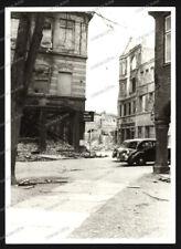 Foto-Lübeck-Gebäude-Architektur-Kriegszerstörung-Ruinen-PKW-1940er Jahre-76