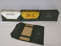 British Army - Military - MOD - Vehicle Documents Holder Wallet Folder Issued