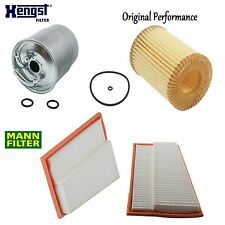 Tune Up Kit Air Oil Fuel Filters for Mercedes-Benz E320 OM642 2007-2009