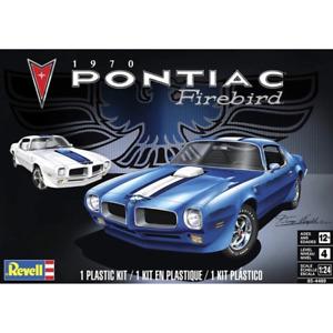 REVELL 14489 1/24 1970 Pontiac Firebird Plastic Model Kit Brand New