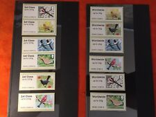 POST & GO MINT MATCHING SETS 2011 BIRDS OF BRITAIN SERIES 2 1ST CLASS AND WW