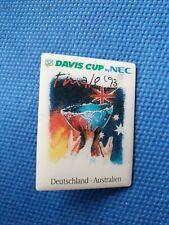 pin badge anstecknadel TENNIS Davis cup final 1993 Germany vs Australia