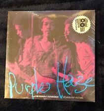 "JIMI HENDRIX 7"" Purple Haze -Atlanta Pop Festival 45  Record Store Day 2015! NEW"