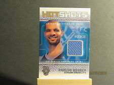 2002-03 Fleer Hot Shots Hot Shots Inserts Game-Used #CB Carlos Boozer JMC