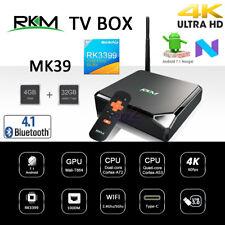 RKM MK39 RK3399 Hexa CPU 4GB 32GB Android 7.1 TV BOX Media Player AC WiFi VP9 BT