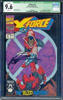 *SIGNED BY ROB LIEFELD* X-Force #2 CGC SS 9.6 1st Weapon X App. 2nd Deadpool App