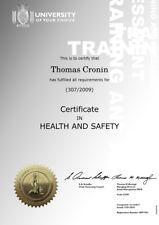 Personalised Fake Novelty Replica School College University Diploma Certificates