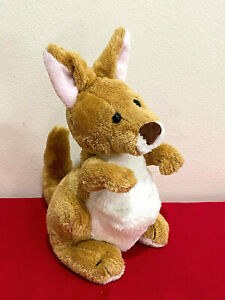 Webkinz Ganz Kangaroo Plush Stuffed Animal Soft Aussie HM180 No Code