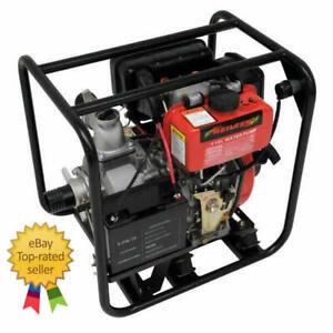"3"" Electric Start Diesel Water Pump Heavy Duty Professional Neilsen CT2893"