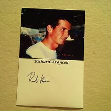 RICHARD KRAJICEK (NLD) TENNIS Wimbledon Sieger 1996 signed Photo 9x13 Autogramm