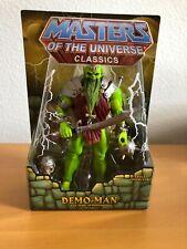 Demo Man MOTUC Masters of the Universe Classics MOTU w Alcala skeletor head NEW