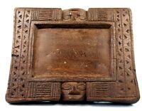 Arte Africano Arti Primo - Vassoio Di Divinazione Yoruba - Yoruba - 22 CMS