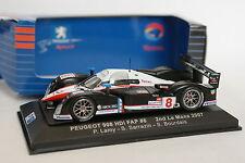 Ixo 1/43 - Peugeot 908 HDI Fap 2d Le Mans 2007