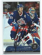 Luke Richardson Signed 2002/03 Upper Deck Card #297