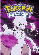 Pokémon the First Movie: Mewtwo Strikes Back (DVD, 2016) NEW