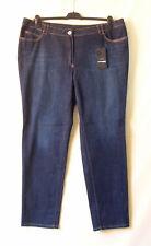 Samoon Jeans mit Used-Effekten Betty by Gerry Weber Neu Hose blau Damen Gr.