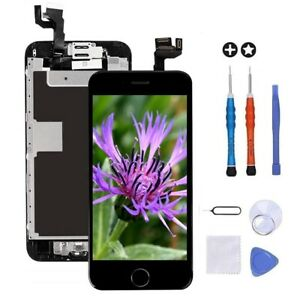 For iPhone 6S Digitizer Touch Button LCD Screen Camera Replacement W/ Tool