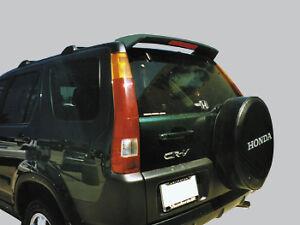 UNPainted GRAY PRIMER Spoiler Fits 2002-2006 HONDA CRV NO Chrome Trim WING