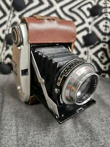 Baldi 29 - Balda Bunde -Vintage W.German Bellows Camera Baldanar 1:2.9/80 Lens