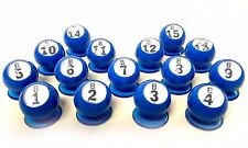 "Waiters - ""Bingo Ball"" - Set of 15 ""B"" Row (B1 - B15) (GM-3-17101)"