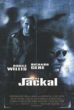 The Jackal Original Double-Sided One Sheet Rolled Movie Poster 27x40 NEW 1997