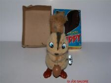 CHIPPY THE WIND UP SQUIRREL BY TRADE MARK JAPAN 1950's MIB UNPLAYED WITH..NM.