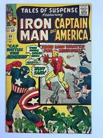 Tales Of Suspense #60 - 2nd Hawkeye Iron Man & Captain America Marvel Comics VF