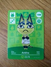 Ankha #188 Animal Crossing Amiibo Card Series 2 Nintendo Switch 3DS Wii U