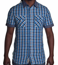 Buffalo By David Bitton Mens Slim Fit Plaid Button Up Shirt Choose Color & Size