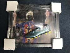Lionel Messi Signed Football Boot Framed