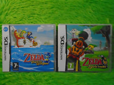 ds ZELDA Spirit Tracks + Phantom Hourglass The Legend Of Zelda PAL REGION FREE